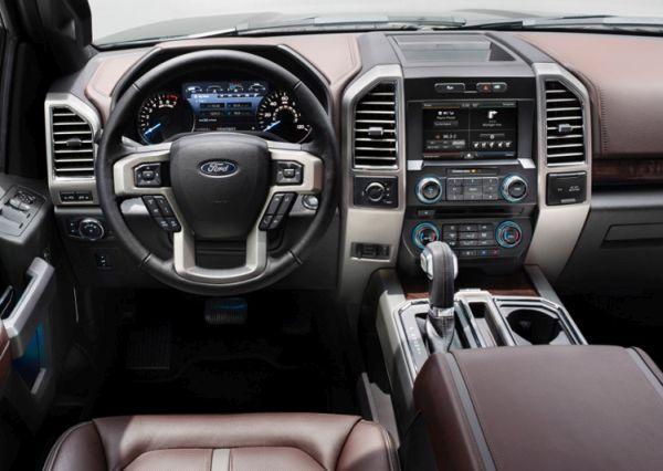 2015 Ford – F 150 Interior