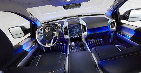 2015 - Ford Atlas Interior