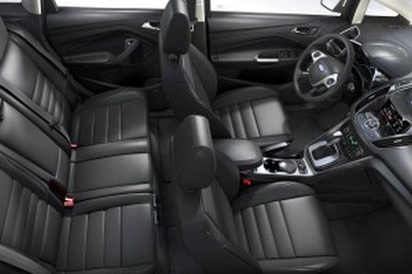 2015 Ford C-Max Hybrid SEL Interior