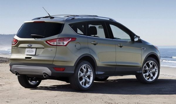 2015 - Ford Escape Hybrid Rear View