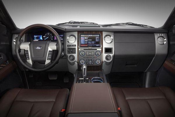 2015 - Ford Expedition Platinum Interior