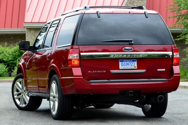 2015 - Ford Expedition Platinum Rear View