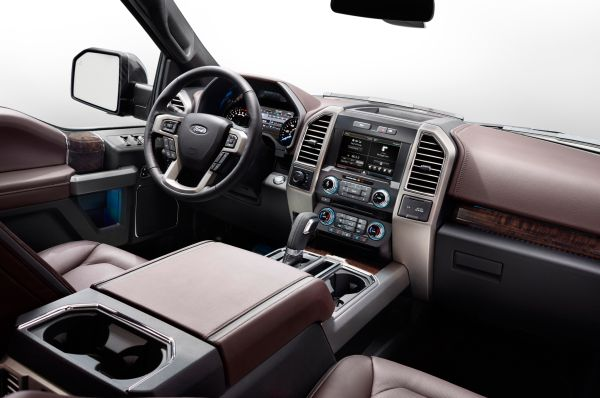 2015 - Ford F-150 Lariat Interior