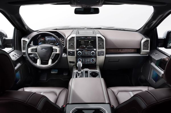 2015 - Ford F-150 XL Interior