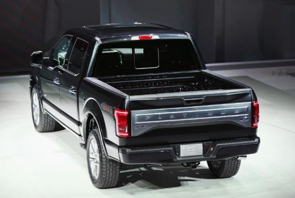 2015 - Ford F-150 XL Rear View