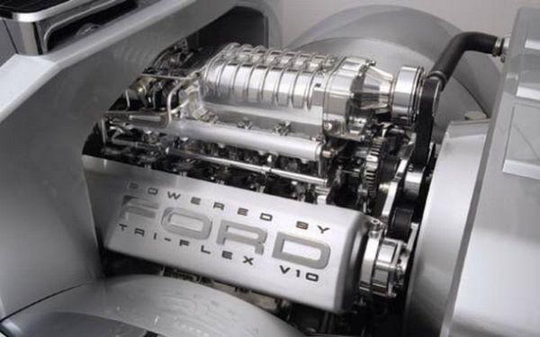 Ford F-250 Engine - 2015