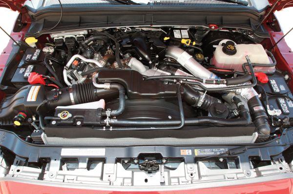 2015 Ford F-350 Engine
