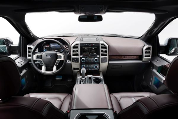 2015 - Ford F150 Harley Davidson Interior