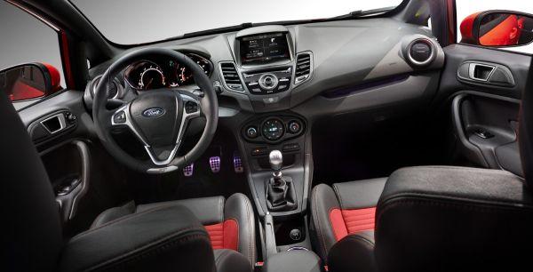 2015 - Ford Fiesta ST  Interior