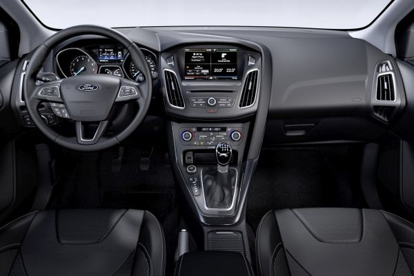 2015 Ford Focus Facelift Interior
