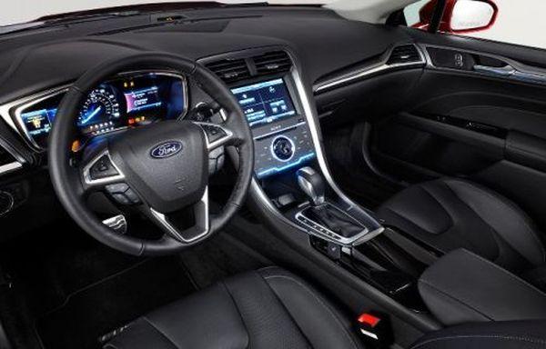 2015 Ford Fusion Energi Interior