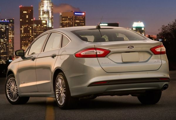 2015 - Ford Fusion Hybrid Rear View