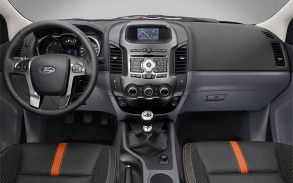 2015 Ford Ranger Interior