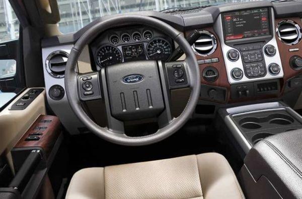 2015 Ford - Super Chief Interior
