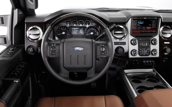 2015 Ford Super Duty Interior