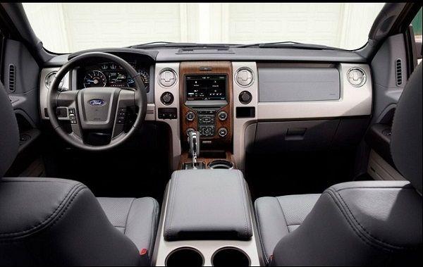2016 - Ford Bronco SVT Interior