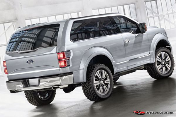 2016 - Ford Bronco SVT Raptor Rear View