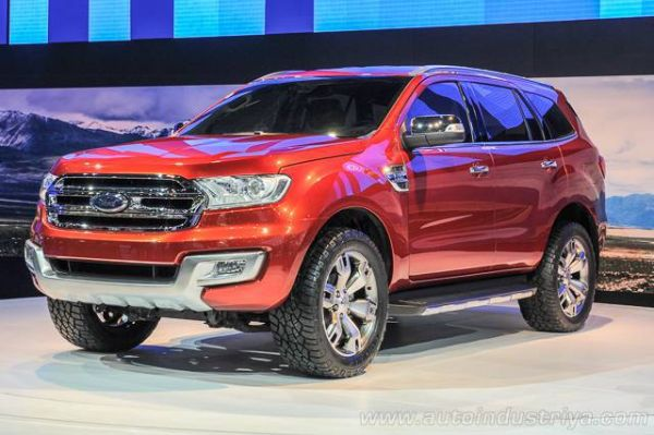 Ford Endeavour - 2016