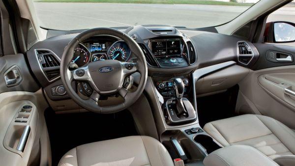 2016 - Ford Escape Hybrid Interior