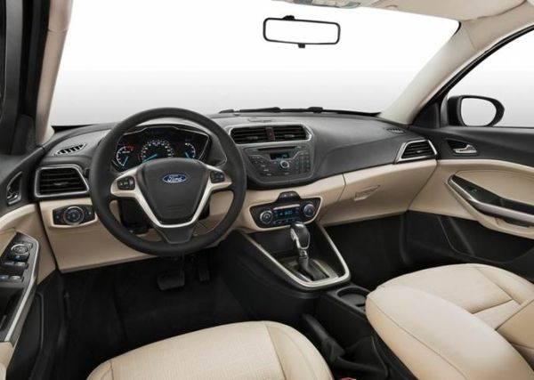 2016 - Ford Escort  Interior