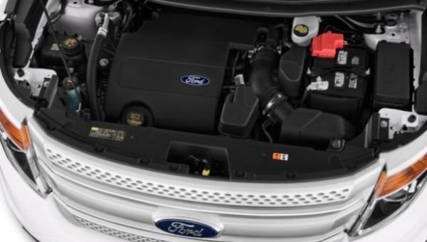 2016 Ford Explorer Engine