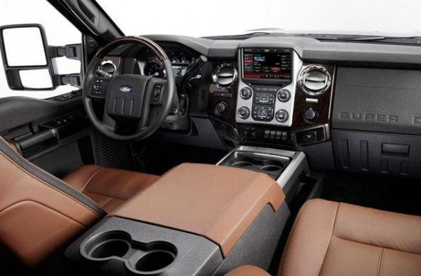 2016 - Ford F-250 Interior