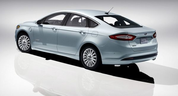 2016 - Ford Fusion Energi  Rear View
