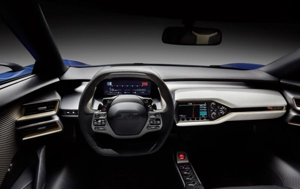 2016 - Ford GT Supercar  Interior
