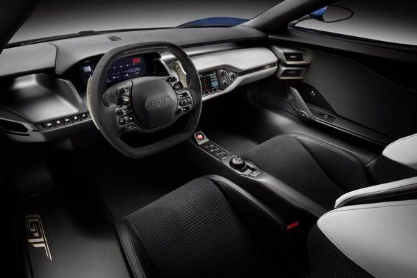 2016 - Ford GT40  Interior