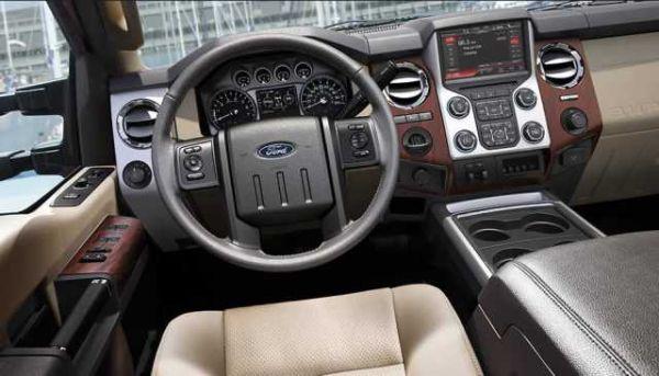 2016 -  Ford Super Duty Interior