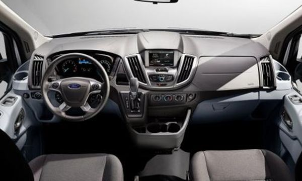 2016 - Ford Transit Connect XLT Interior
