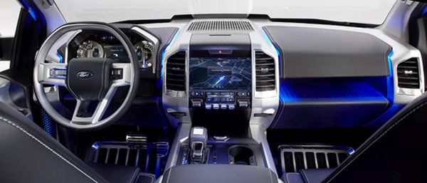 2017 - Ford Atlas Interior