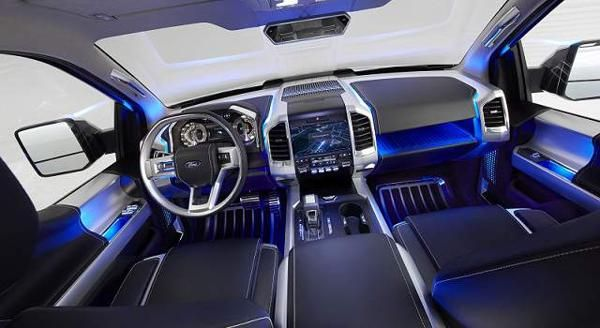 2017 - Ford Expedition Interior