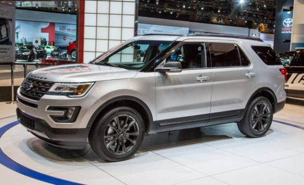 2017 ford explorer xlt sport price release date. Black Bedroom Furniture Sets. Home Design Ideas