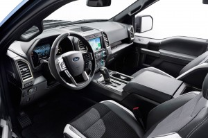 2017 Ford - F 150 Raptor Interior