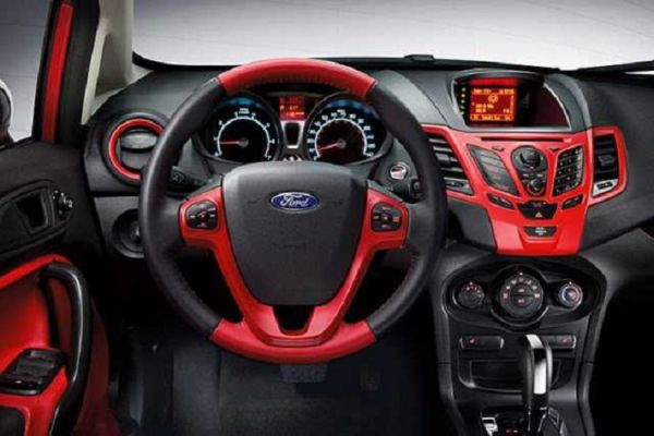 2017 Ford Fiesta Interior