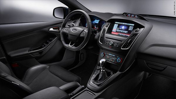 2017 Ford Focus RS Interior
