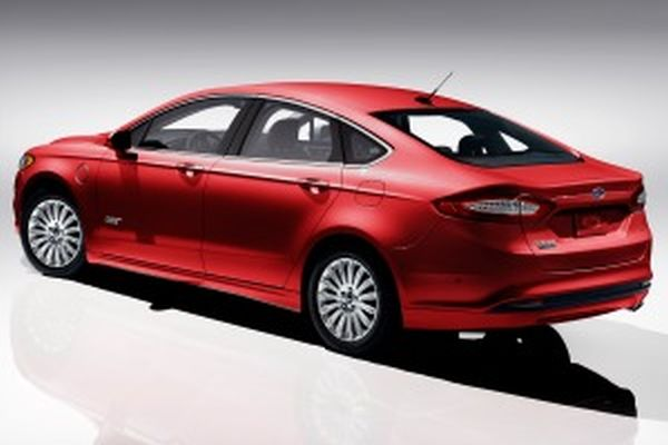 2017 - Ford Fusion Energi Rear View