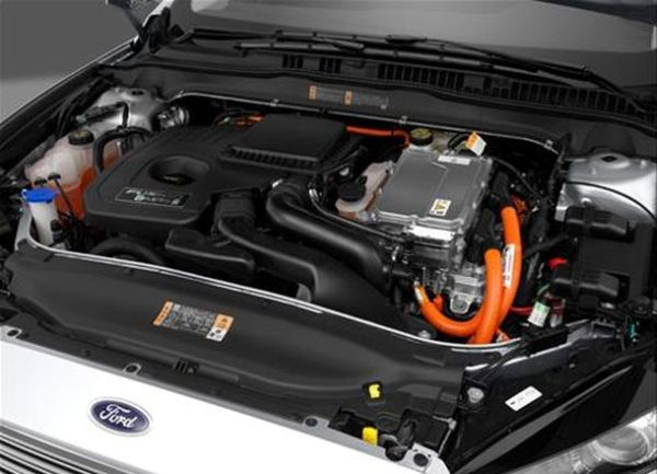 2017 Ford Fusion Engine