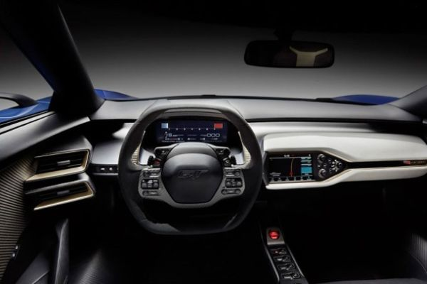2017 Ford GT Supercar Interior