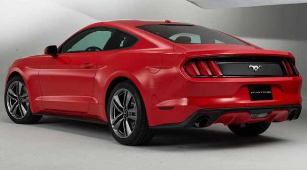 2017 - Ford Mustang Shelby GT 500 Rear View