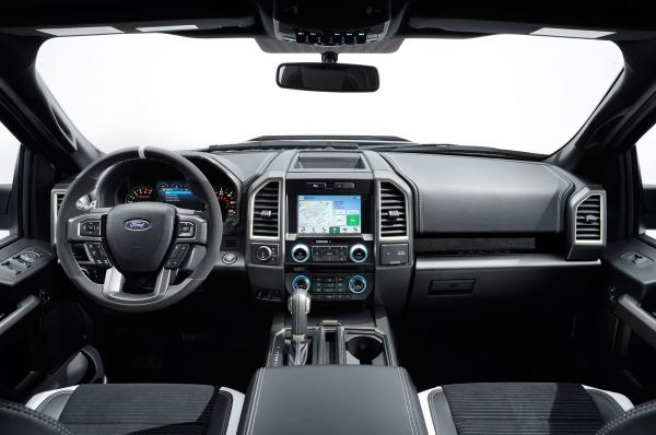 2017 - Ford Raptor Interior