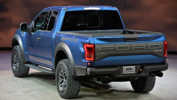 2017 - Ford Raptor  Rear View