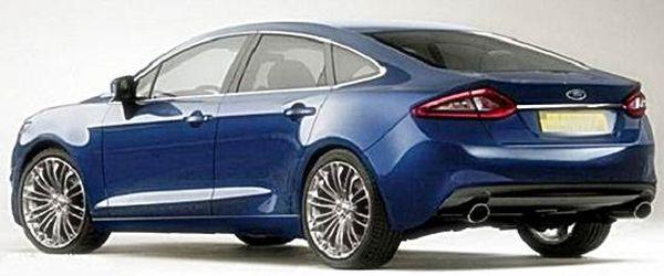 2017 - Ford Taurus Rear View