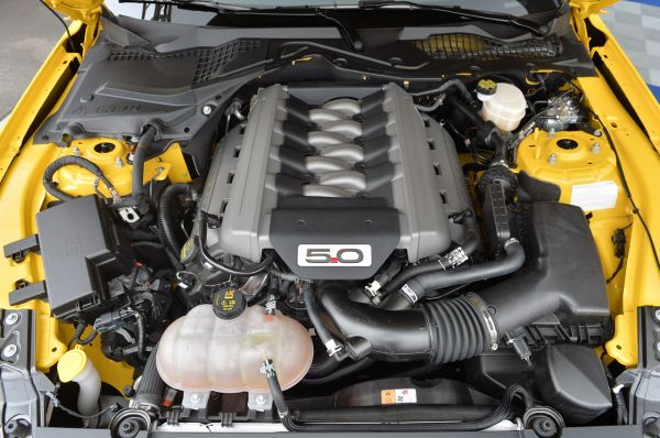 2018 - Ford Mustang Engine