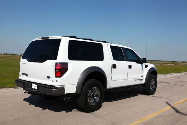 Ford Excursion 2015 - Side and Rear View