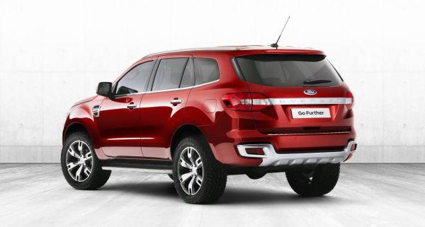 Ford Explorer Sport 2017 - Rear View