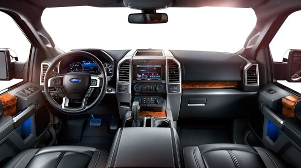 Ford F 150 Lightning 2015 - Interior