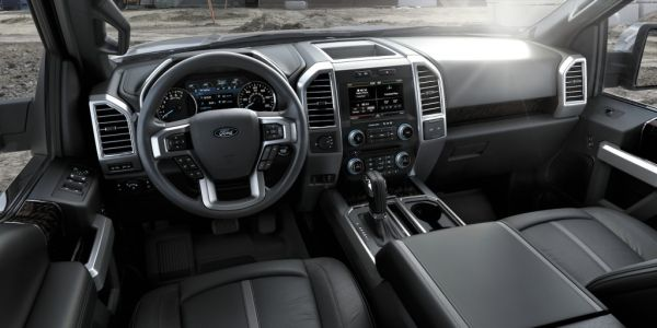 Ford F-150 Platinum 2015 - Interior