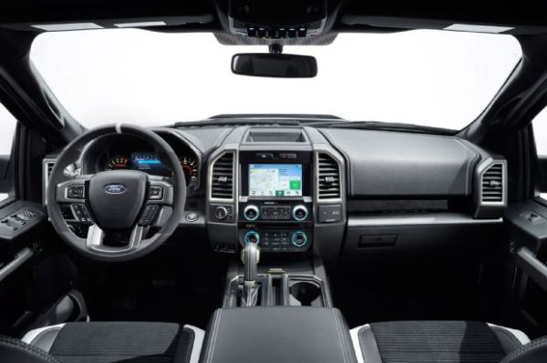 2017 Ford F-150 Raptor SuperCrew - Interior